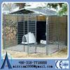 wholesale metal dog kennel / dog kennel cage / galvanized steel dog kennel