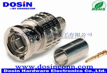 Factory price electrical connector termination loading BNC female one pin test connector