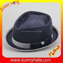 Sunny 1771 wholesale knitted cheap straw hat panama hat cowboy hat