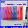 Para BlackBerry Passport Q30, Flexible TPU Case Funda Para Blackberry Q30