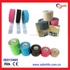 2015 wholesale cure 5cm 5m medical sport therapy cure protect muscle elastic cohesive physio multicolor Precut kinesiology tape