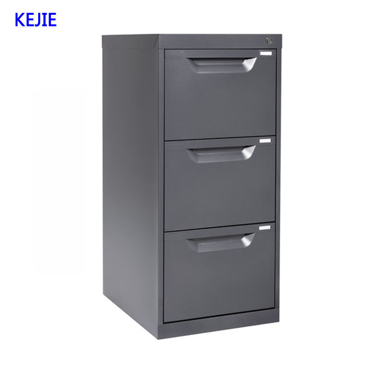 petit bureau de direction poitrine l ger pratique 3 couche verrouillable metal tiroirs pour. Black Bedroom Furniture Sets. Home Design Ideas