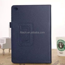For Apple ipad mini4 back stand cover case,leather case for Apple ipad mini4