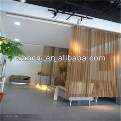 Colorful Hanging Metal Curtains/diamond hole perforated sheet for decoration