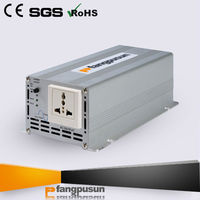 micro pure sine wave output 12v 24v solar panel inverter