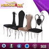 2015 high quality PU leather dining room furniture metal frames dining chair