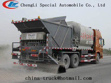 Synchronous chip sealer road construction equipment