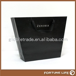 paper jewelry bag with flexo printing REB-PB918 alibaba guangzhou supplier