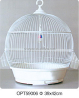ORIENPET & OASISPET Bird round Mental Cage cage with feeder OPT59006