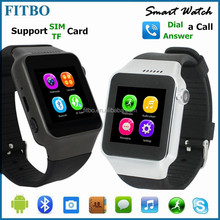 Ultra-thin Manufacture FTB15 best wrist watch cell phone for IOS, Android Phone