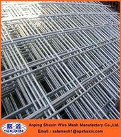 Galvanized 6x6 steel concrete reinforcing rebar welded wire mesh panel