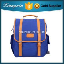 Unisex Fashionable Canvas School Backpack Leisure Travel Bag