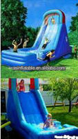 outdoor playground amusement park giant inflatable water slide