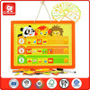 hot good quality wooden alphabet puzzle children play white board wood magnetic educational toy