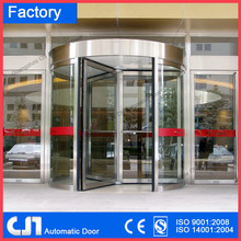 CE& ISO automatic revolving hotel door / gate