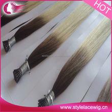 Wholesale Price Italian Keratin Double Drawn Pre Bonded Hair Extension