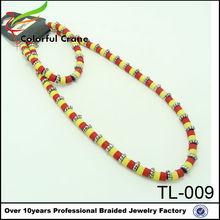 2014 artesanais na china antiga jóia peregrina personalizado colar e pulseira atacado e personalizado
