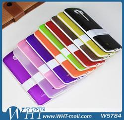Factory Price Mobile Phone TPU Case for LG G3 with PC Stand