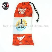 China Supplier plain tote bag cotton with logo printing,cloth bag sunglasses,printing customized microfiber bags