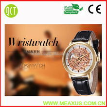 Famous Brand Watch Winner Skeleton Mechanical Hand Wind Mens Classic Carving Unisex Wrist Watch Win039