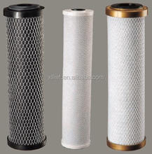high quality big size carbon block filter cartridge/20'' high activated carbon