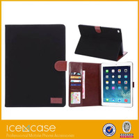 New Card Holder wooden case for ipad air2 with stand Function