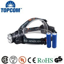 Most power led mining light,LED headlight,rechargeable led headlamp