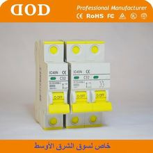 DX with new RCCB 4P AC Type 40A MCB mini circuit Breaker 2p mini current breaker