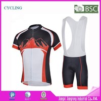Free Sample Specialized Bike Bicycle Uniforms, Manufacture Mountain Bicycle Cycling Clothing With Bib Shorts
