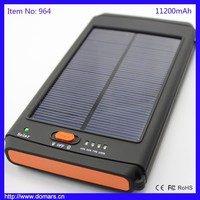 Best Selling Portable 11200mAh 12V Laptop Solar Power Bank Charger