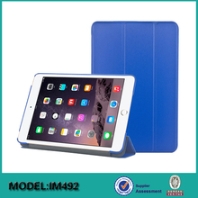 Hot selling pu Leather case For ipad mini 4 smart shell