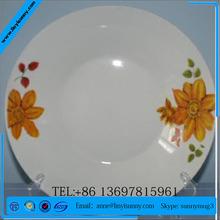 commercial dinnerware sets white/designer dinner show plates/dinnerware catering sets