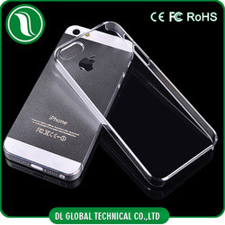 Crystal Clear Hard PC Phone Case For iPhone 5 Matte and Smooth Surface Available