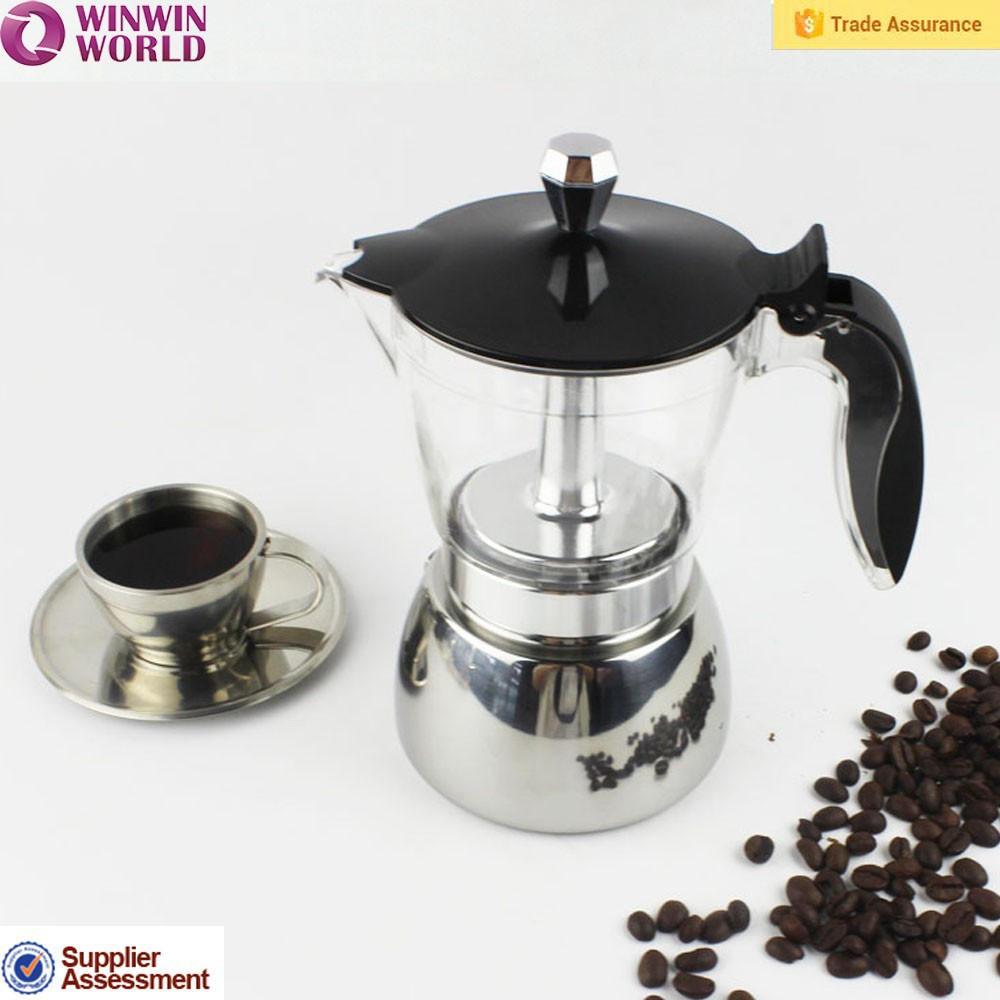 4 Cup Coffee Maker Portable : Top Selling 4/6 Cups Portable Turkish Aluminum Espresso Coffee Maker - Buy Electric Turkish ...