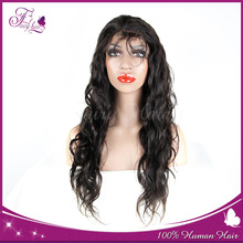 2015 best selling unprocessed Brazilian hair Full lace wigs 100% human hair hand made wigs