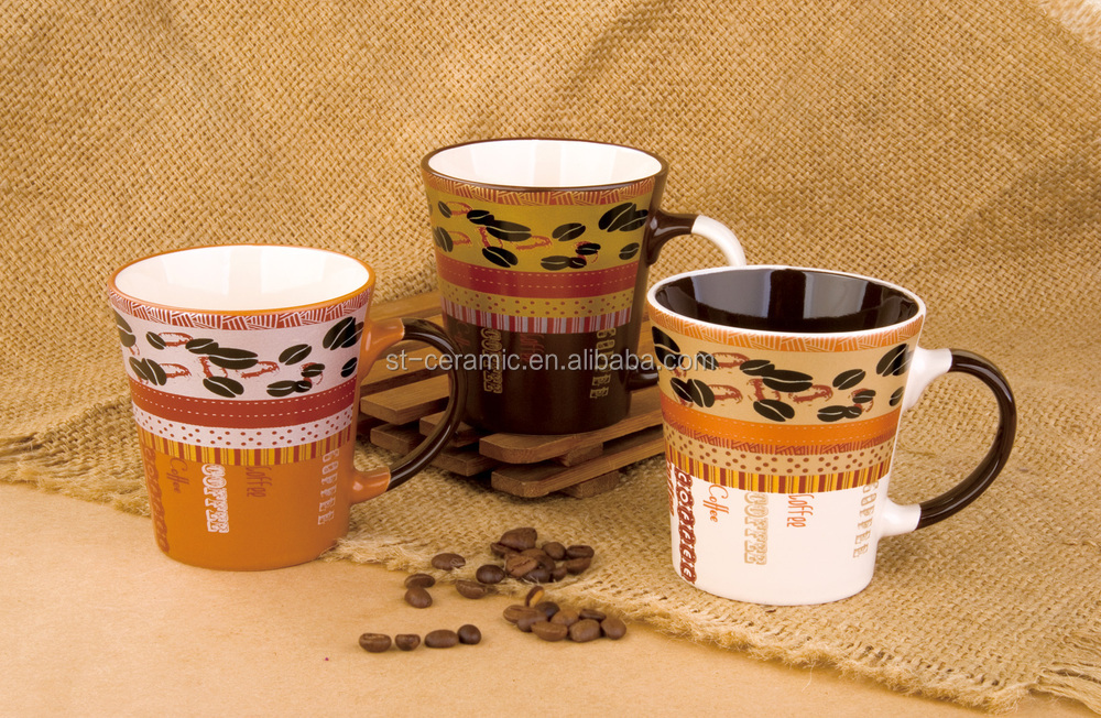 Hot new products for 2015 promotional ceramic espresso cup and saucer