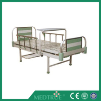 CE/ISO Approved Aluminum Alloy Two Cranks Medical Manual Hospital Bed (MT05083084)