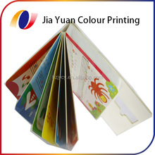 Children thick learning paper Card book Printing from China