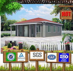 Prebuilt fashion and new type low cost 80m2 prefab house plan
