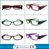 Led reading glasses with new pattern design,fashionable light reading glasses