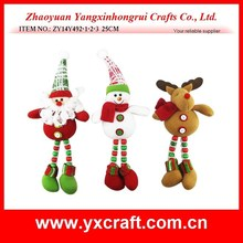 christmas decoration (ZY14Y492-1-2-3 25CM) Christmas decoration gift ornament santa snowman reindeer