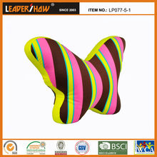 most popular butterfly pillow /newest plain colour wing-shaped back cushion