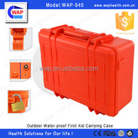 Trade Assurance WAP IP67 Red ABS click lock safety custom-made empty first aid box