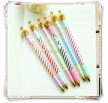 TL-02 Novelty and creative crown ballpoint pen , cute stationery from korea for girls