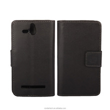 black Cell Phones Accessories 100 Pattern Wallet Flip Leather Case For Sony Xperia U ST25i