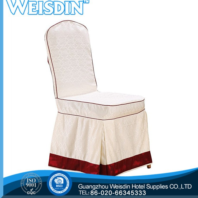 weisdin barato casamento folding cadeira de tapeçaria do assento cobre com poliéster em 2014