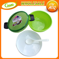 Green wholesale lunch boxes bento kitchen ware