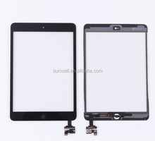 For iPad mini 2 touch screen with IC and home button replacement BLACK