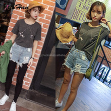 Womens jeans shorts new style 2015 designer brand shorts for ladies and girls fashion for USA market