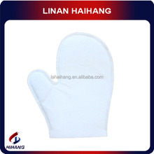 Chinese wholesale manufacture nonwoven white cotton antistatic glove